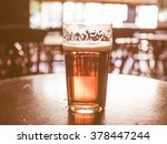 Vintage Looking A Pint Of Beer...