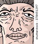 cartoon expression | Shutterstock .eps vector #378451297