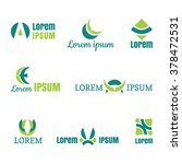 business icons set. vector... | Shutterstock .eps vector #378472531