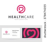 healt care logo and business... | Shutterstock .eps vector #378474355