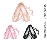 ballet shoes   Shutterstock .eps vector #378476515
