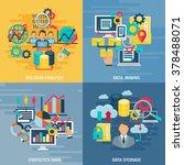 big data mining analysis and... | Shutterstock .eps vector #378488071