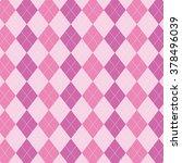 argyle pattern. diamond shapes... | Shutterstock .eps vector #378496039