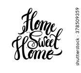 hand lettering typography...   Shutterstock .eps vector #378509359