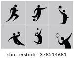 silhouette sport people
