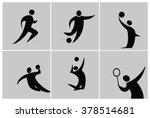 silhouette sport people