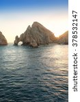 land's end rock formation and... | Shutterstock . vector #378532147