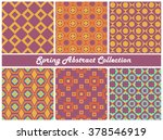 vector collection of bright... | Shutterstock .eps vector #378546919