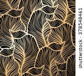 damask floral pattern. royal... | Shutterstock .eps vector #378548461
