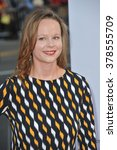 "Small photo of LOS ANGELES, CA - JUNE 30, 2014: Thora Birch at the premiere of ""Tammy"" at the TCL Chinese Theatre, Hollywood."