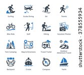 tourism   travel icons set 4  ...
