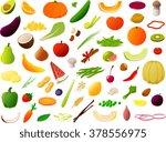 vector illustration of various... | Shutterstock .eps vector #378556975