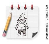 elf doodle | Shutterstock .eps vector #378584425