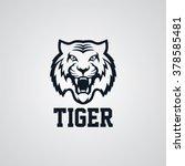 tiger logo | Shutterstock .eps vector #378585481