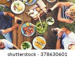 friends friendship outdoor... | Shutterstock . vector #378630601
