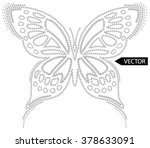 embellishment hot fix stud... | Shutterstock .eps vector #378633091