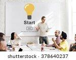 start begin activation begin... | Shutterstock . vector #378640237