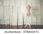 Vintage Mannequin In Cozy...