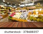 supermarket store blur... | Shutterstock . vector #378688357