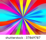 colorful rays   Shutterstock . vector #37869787