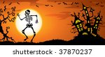 halloween background with... | Shutterstock .eps vector #37870237