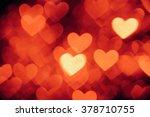 heart shape background photo... | Shutterstock . vector #378710755