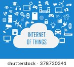 internet of things concept and... | Shutterstock .eps vector #378720241