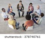 unity variation team group... | Shutterstock . vector #378740761