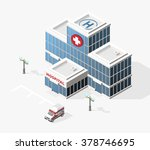 isometric high quality city... | Shutterstock .eps vector #378746695