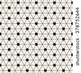 vector seamless pattern. modern ... | Shutterstock .eps vector #378752644