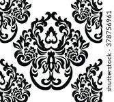 vintage damask royal ornament...   Shutterstock .eps vector #378756961