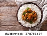 indian food  madras beef with... | Shutterstock . vector #378758689