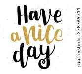 """hand drawn lettering """"have a... 