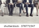 human resources interview... | Shutterstock . vector #378771547