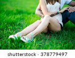 couple in love   beginning of a ... | Shutterstock . vector #378779497