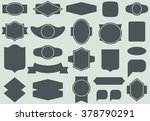 vector labels and frames... | Shutterstock .eps vector #378790291