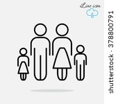 line icon family | Shutterstock .eps vector #378800791