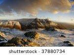 langdale pikes in winter  from... | Shutterstock . vector #37880734