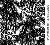 tropical fashion seamless print ... | Shutterstock .eps vector #378826009