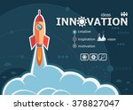 innovation design and concept... | Shutterstock .eps vector #378827047