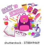 vector colorful illustration of ... | Shutterstock .eps vector #378849469