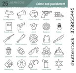 vector linear icons set for...