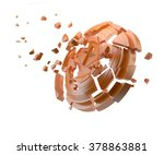 shatters clay target for...   Shutterstock . vector #378863881