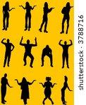 vector people   Shutterstock .eps vector #3788716