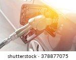 refueling cars | Shutterstock . vector #378877075