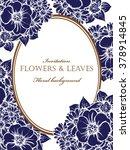 vintage delicate invitation...   Shutterstock .eps vector #378914845