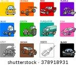 cartoon vector illustration of... | Shutterstock .eps vector #378918931
