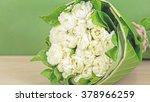 jasmine  bouquet on wooden...   Shutterstock . vector #378966259