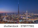 dubai  united arab emirates  ... | Shutterstock . vector #378977581