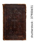 an old bible isolated. the book ... | Shutterstock . vector #37900651